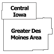 Region 4 Map Central Iowa Greater DM