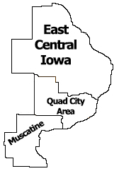 Region 7 Map QCARA Muscatine East Central