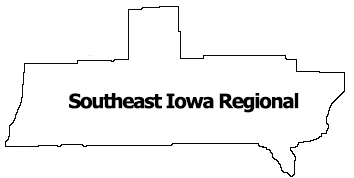Region 8 SE Iowa Regional Map